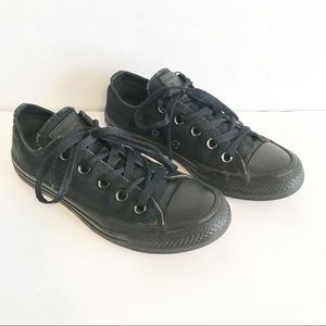 Converse All Stars Black Lace Up Sneakers